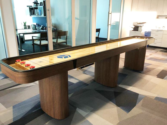 12' Challenger Sport Shuffleboard installed in Phoenix, Arizona