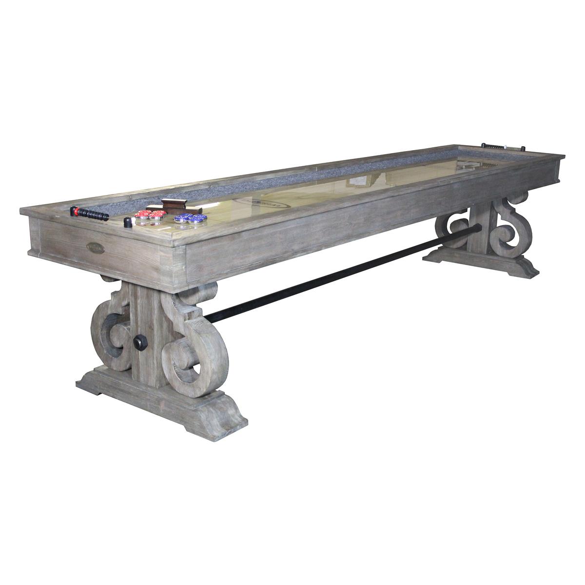 12-ft. shuffleboard table