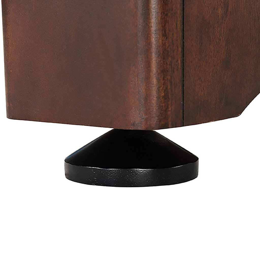 furniture-grade finish with molded